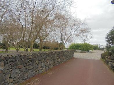 Uma de las entradas del parque