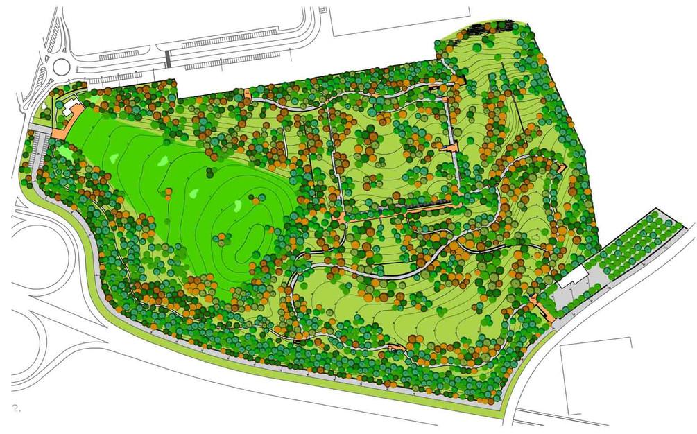 Park's masterplan