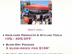 BXV Spring Sidewalk Sale!