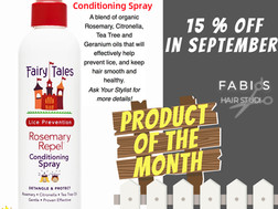 Product of The Month ♥ 15% OFF in September