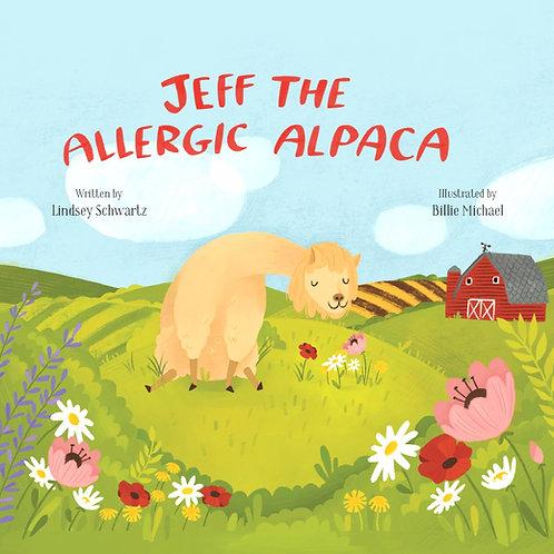 Jeff The Allergic Alpaca