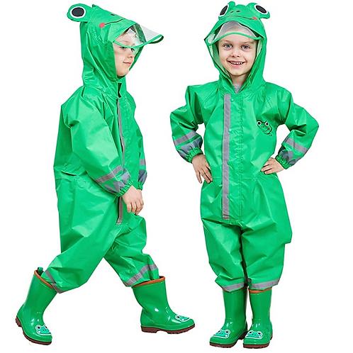 Green Rain Suit