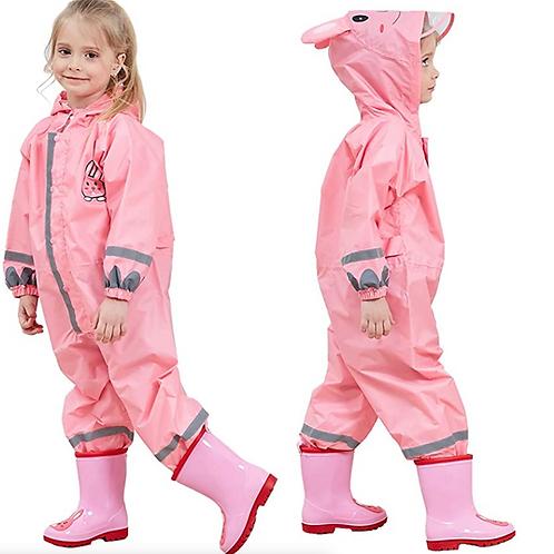 Pink Rain Suit
