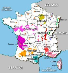 Mapa Val de Loire