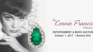 The Connie Francis Celebrity Collection, Heritage Auctions, Beverly Hills, Oct. 1