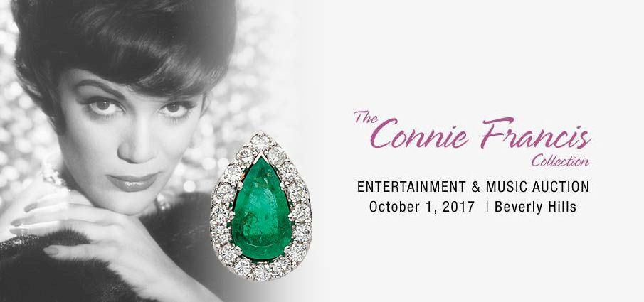 The Connie Francis Celebrity Auction by Heritage of Beverly Hills