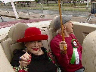 Annual Philadelphia Columbus Day Parade Makes it's Way Down Broad St.