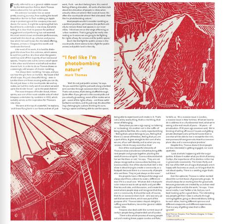 Political Tresspass, Mark Thomas - The Skinny Magazine