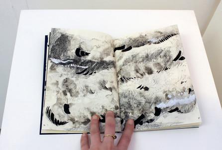 To the Desert go Prophets and Hermits - Artist's book