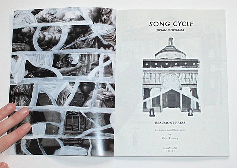 Song Cycle by Lucian Moriyama - Beaumont Press