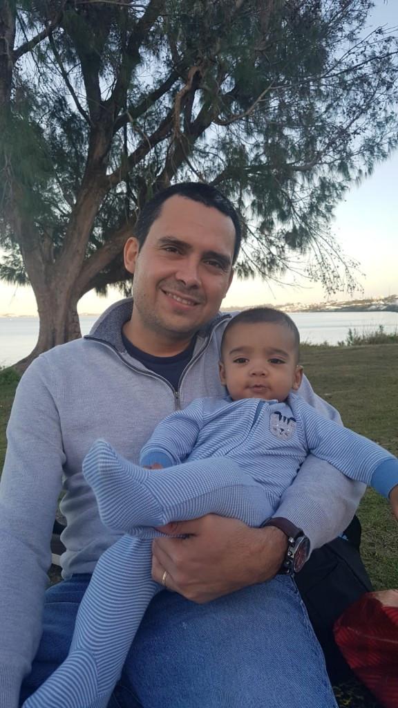 Mateo and Dad