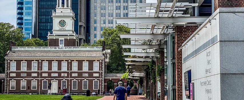 Independence Hall Walkway