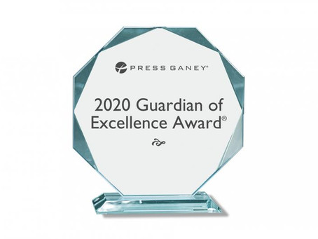 Fox Chase Cancer Center Receives Press Ganey's 2020 Guardian of Excellence Award