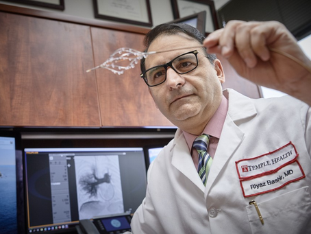 This Philly Doctor Invented a Way to Dissolve One of the Most Dangerous Types of Blood Clots