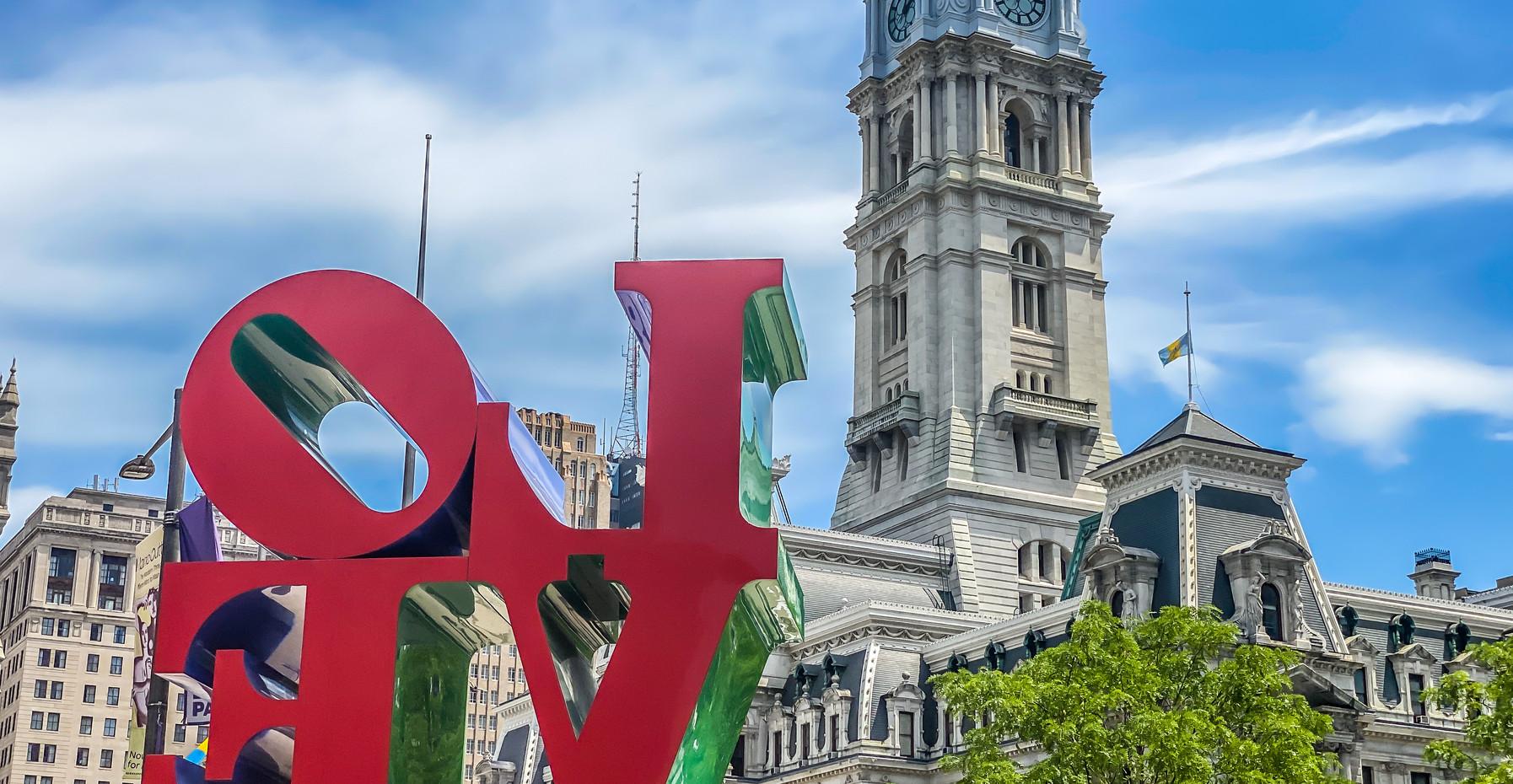 Philadelphia Love Statue