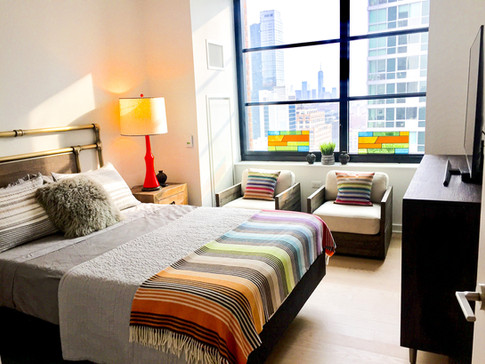 Stained Glass Apartment Views