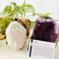 Buddha, Agate and spiritual inspiration