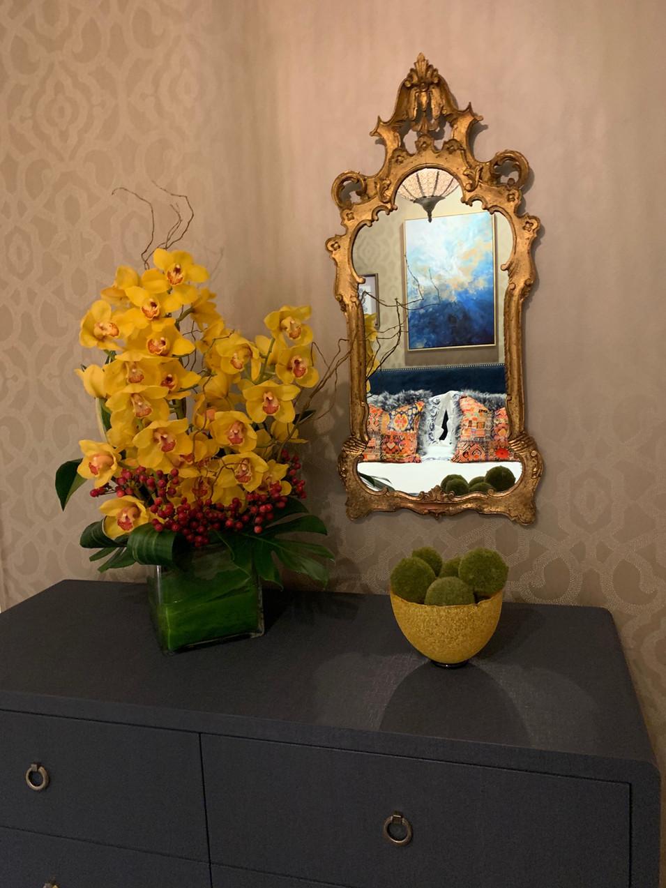 Casablanca Suite Gilded Mirror