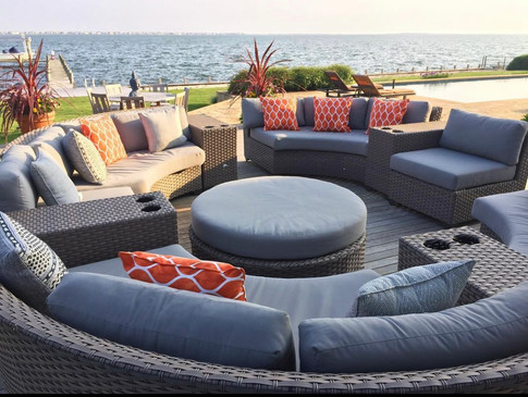 Bay View Sectional Seating