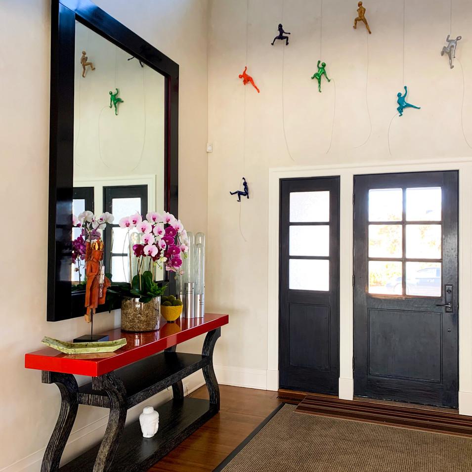 Art Inspired Entryway
