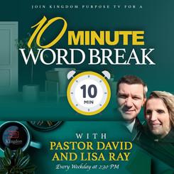 Pastor David and Lisa Ray - 10 Minute Wo