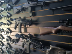 My gun wall.