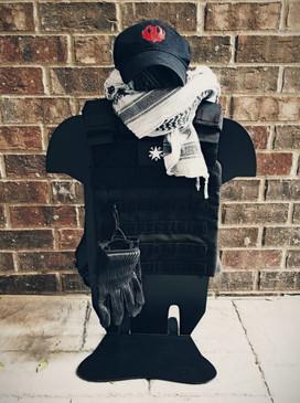 Tactical Vest Stands