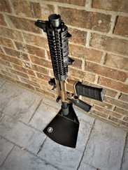 AR15 on Short display stand
