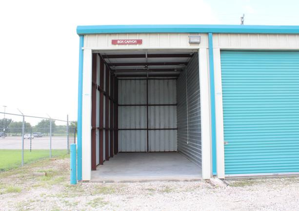 Southwest Storage Unit Open Door with El
