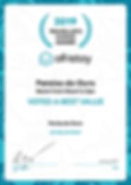 Award Paraiso do Ouro.jpg