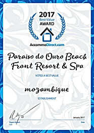 Paraiso do Ouro Beach certificate.jpg