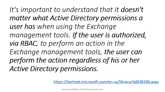 Mitigating Exchange Permission Paths to Domain Admins in Active Directory