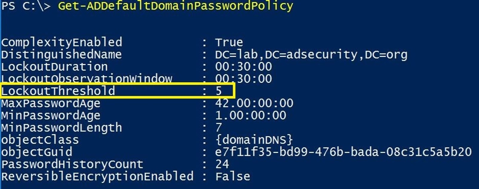 Trimarc Research: Detecting Password Spraying with Security Event