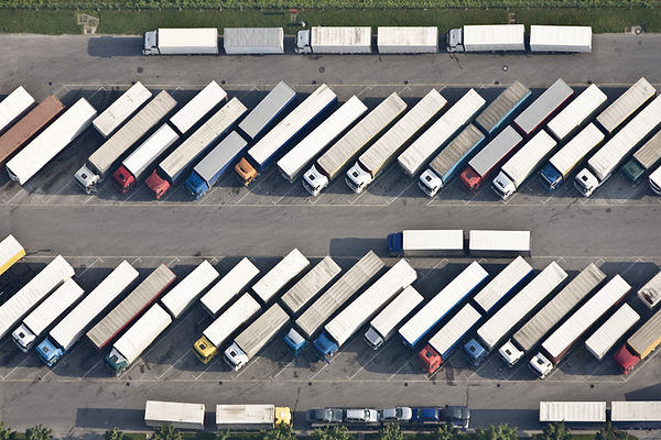 Drone lorry park