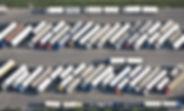 Birds-eye view of trucks.