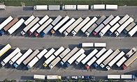 Vrachtwagen Parking