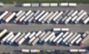 Ciężarówka parkingowe
