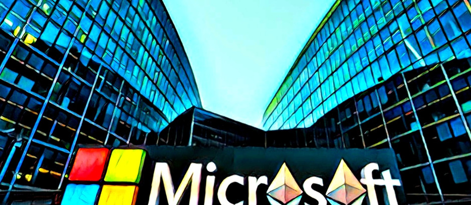 Tech Giant, Microsoft Lends Helping Hand for Enterprises Minting Their Own Ethereum Tokens