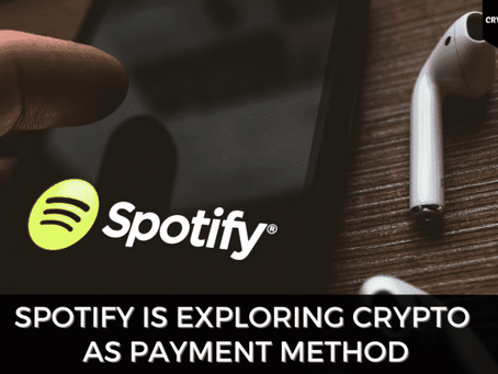 Spotify To Accept Crypto Payments Soon?