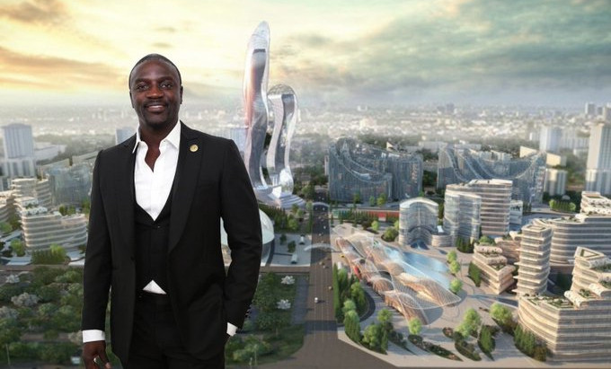 American Singer, Akon to Build $6 Billion Cryptocurrency City