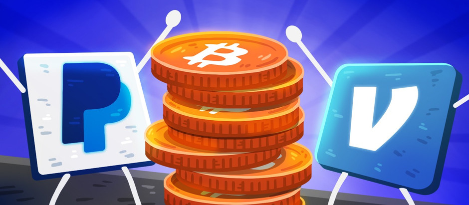 Reportedly Paypal and Venmo are planning to let users Buy and Sell Crypto