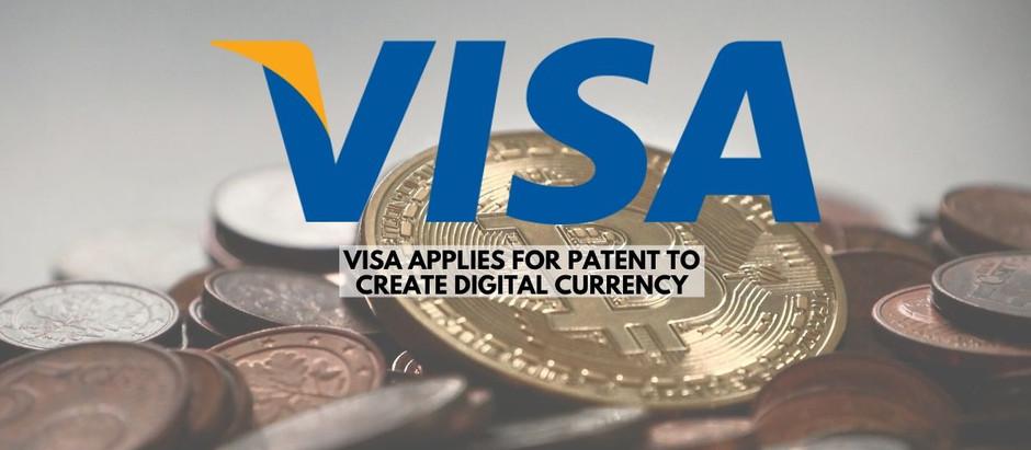 Visa Files Patent for Digital Currency