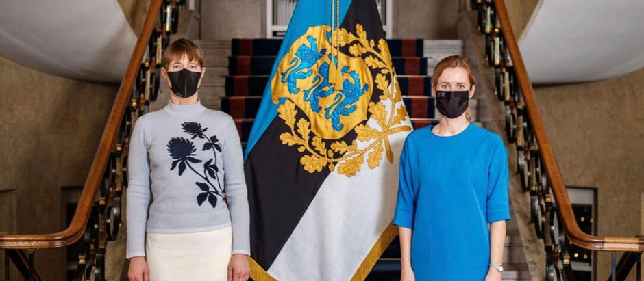 Estonia Will Become the Only Country to Have a Female PM and President