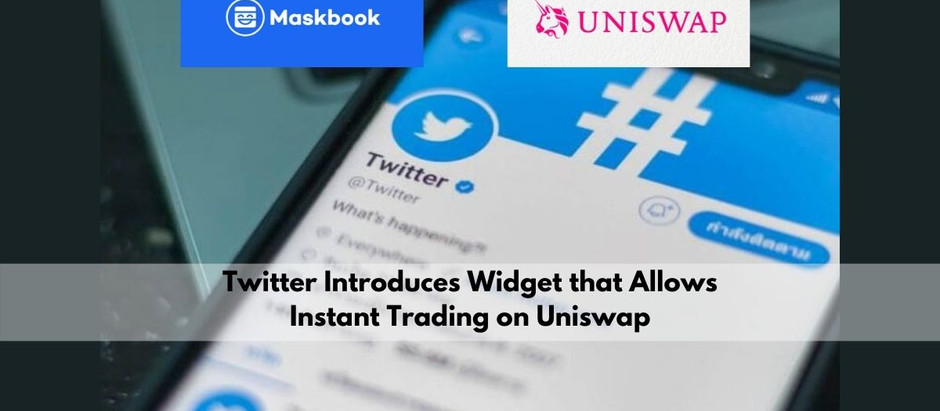 Now There Is a Chance to Trade on Uniswap Without Going Out of Twitter