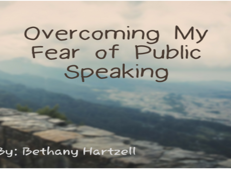 Overcoming My Fear of Public Speaking