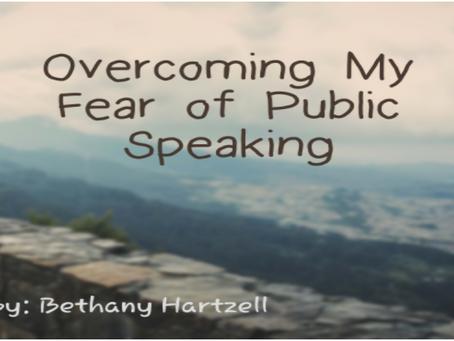 Overcoming My Fear of Public Speaking