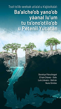 Fauna subterránea de los cenotes en la Península de Yucatán (Maya)