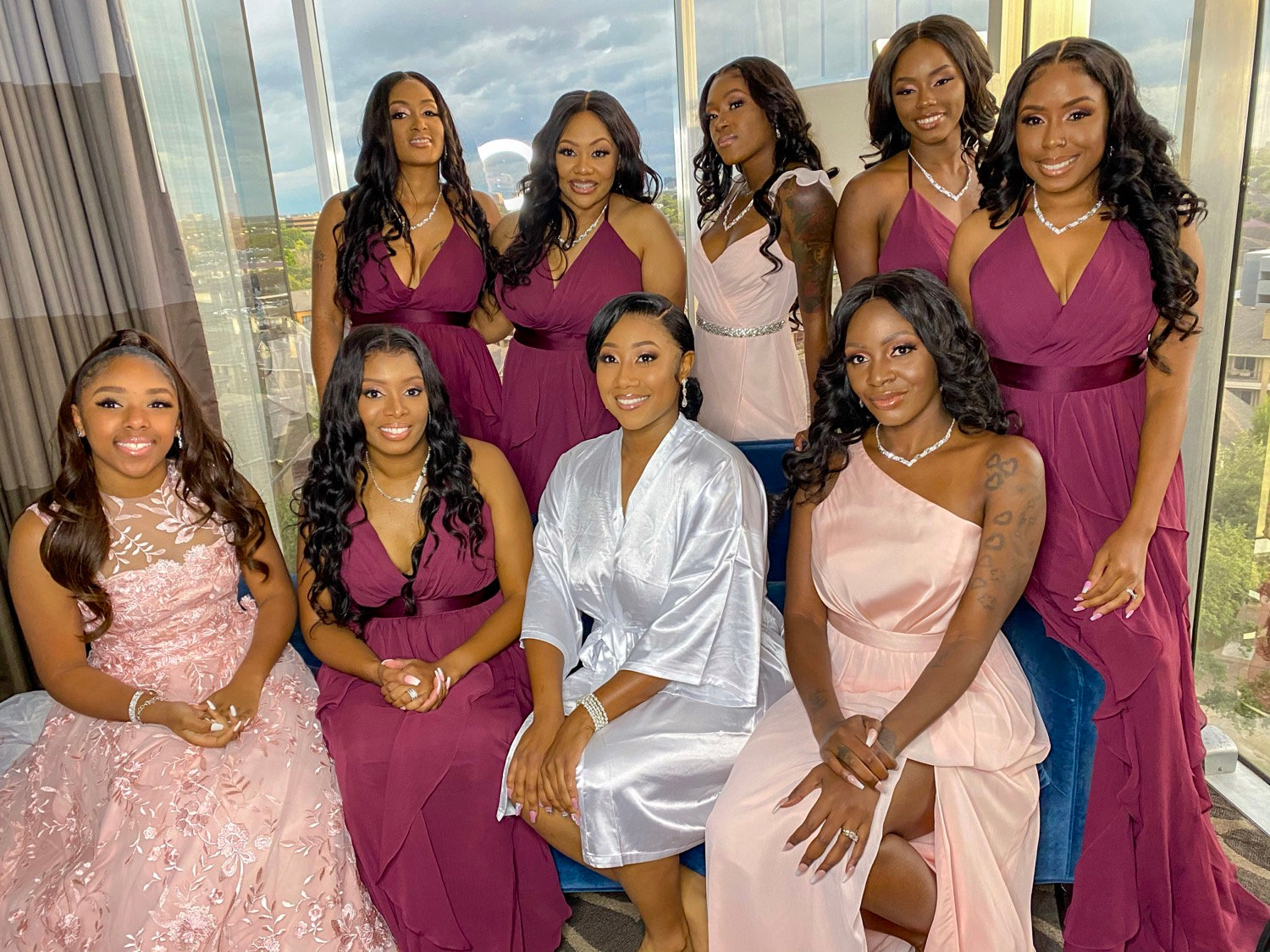 BRIDAL PARTY (does not include Bride)