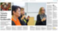 Voicefulness-artikkeli Aamulehti 23.10.2018