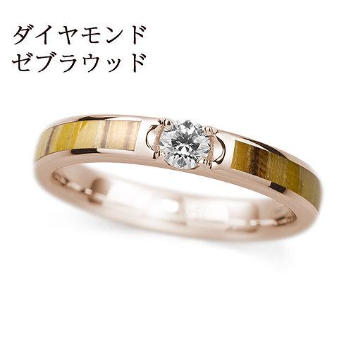 K18PG カリン / ダイヤモンド